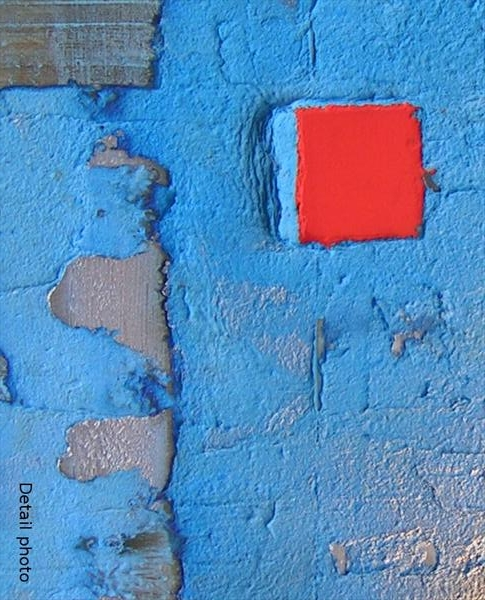 A blue painting. buy contemporary art