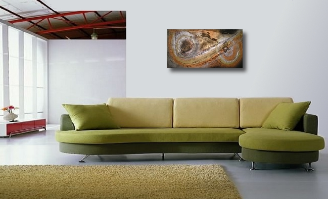 A rust, bronze and copper painting. art buy modern
